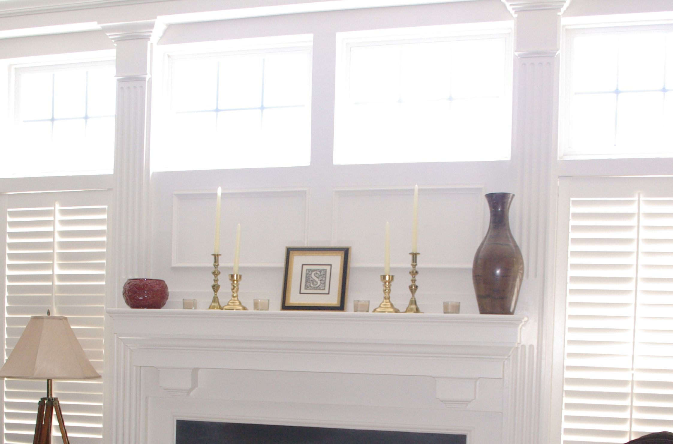 perfecting imperfection a k a decorating your mantel staged