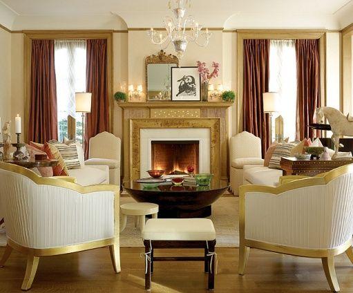 5 american homemaker asymmetrical mantle display