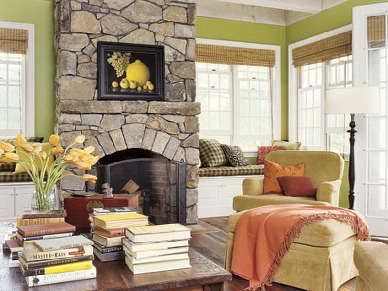 Beautiful-Corner-Stone-Fireplace-Designs
