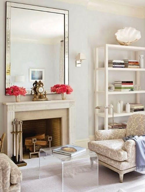 fireplace mantel styling decorating how to ideas inspiration art 2